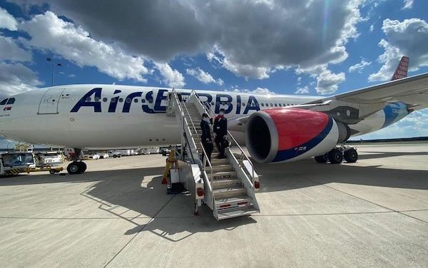 1 June - new take off for Air Serbia scheduled passenger flights
