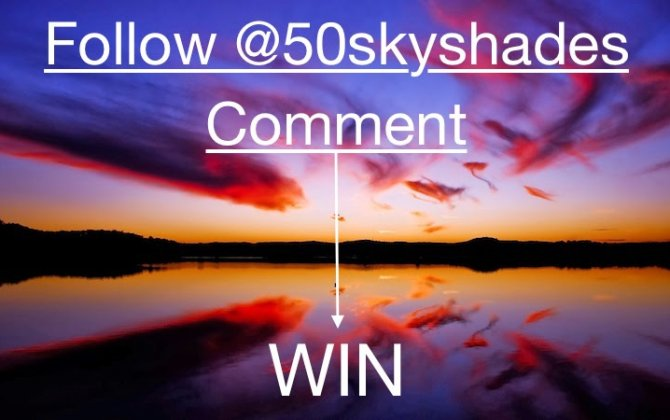 Follow, Comment and Win!