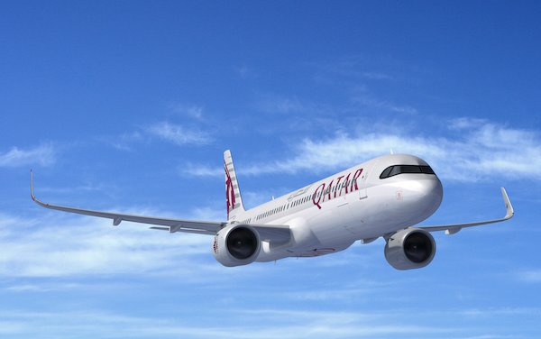 10 of Qatar Airways 50 Airbus A321neo converted on Order to the Longer Range Airbus A321LR