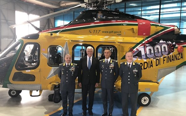 1,000th AW139 helicopter – a sales champion to the world market