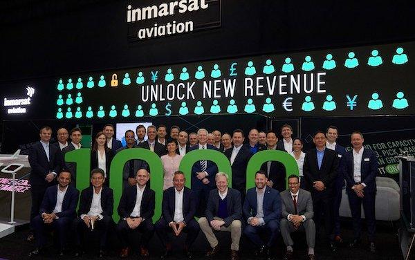 1,000th installation of next-generation inflight broadband solutions