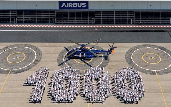 1,000th Super Puma helicopter delivered
