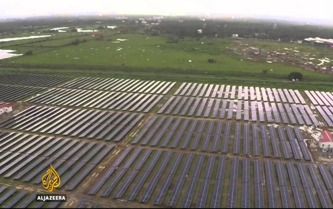 India Launches World's First Solar-powered Airport