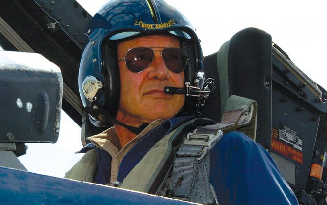 Celebrity Pilots - do you know them - Harrison Ford