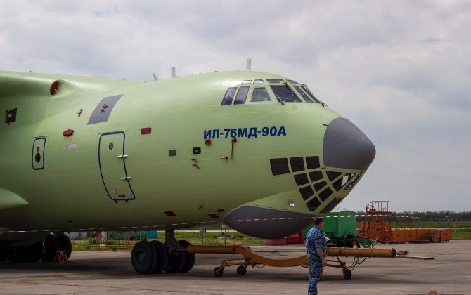 Russian Air Force Looks Forward To First Il-76MD-90 Deliveries