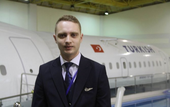 Man Born on Turkish Airlines Plane Becomes Turkish Airlines Flight Attendant