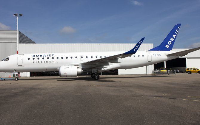 GECAS Regional Aircraft Group delivers three leased Embraer E195s to BoraJet Airlines