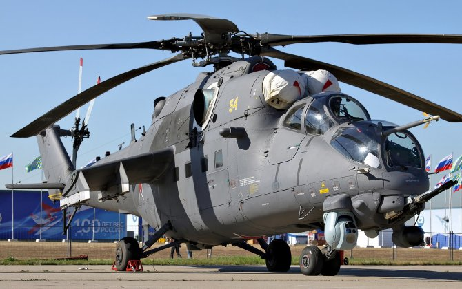 Russia signed a contract for delivery of Mi-35M helicopters to Pakistan