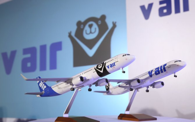 V Air Launched Taipei-Busan Service Today
