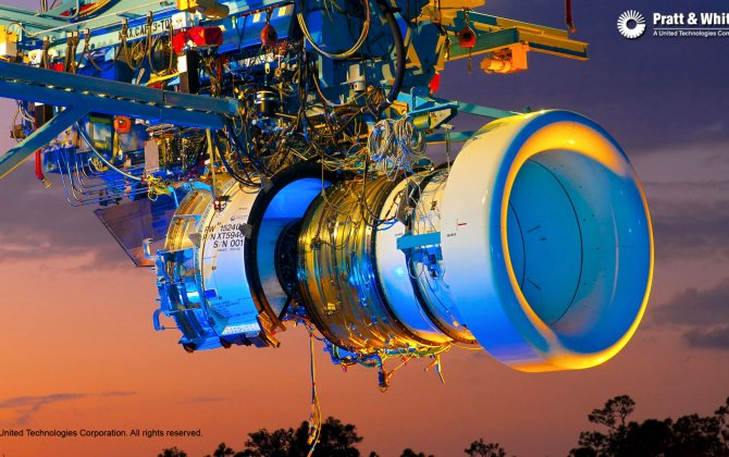 Pratt & Whitney Delivers First PurePower® Engine to Irkut Corporation