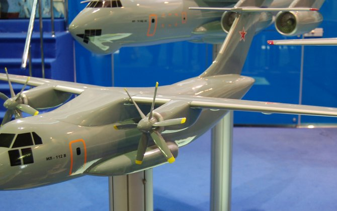 Production of the first Il-112V aircraft was started in Russia