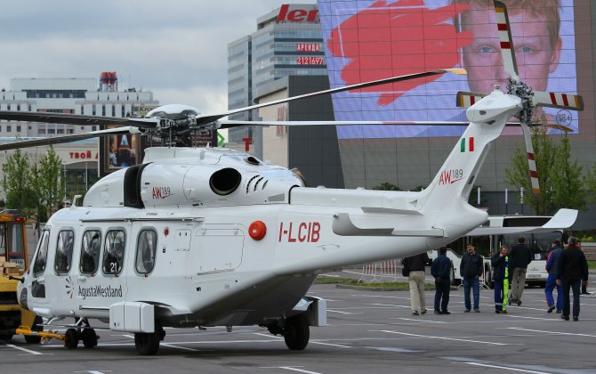 AgustaWestland got Russia's type certificate for AW189