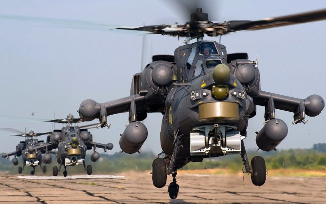 Russia delivered a batch of Mi-35M and Mi-28NE Night Hunter attack helicopters to Iraq