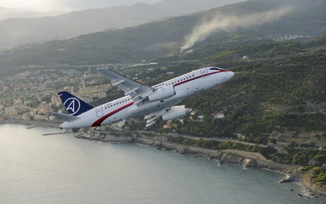 STLC and SCAT signed a lease agreement for 15 Sukhoi SuperJet 100 aircraft