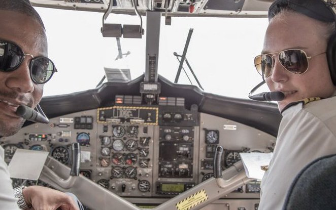 Why Winair's newest pilot Amber Hellebrand leans into aviation