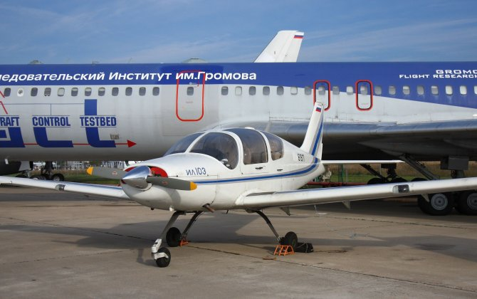Russia and China are negotiating deliveries of Il-103 aircraft