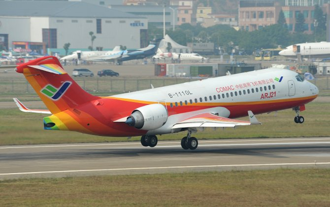 COMAC to Deliver First ARJ21 to Chengdu Airlines in November