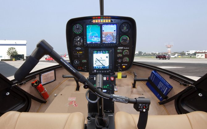 Robinson Introduces New R44 & R66 Autopilot and Aspen Primary Flight Display Package