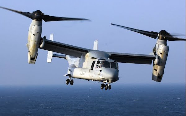 $144 million for V-22 support goes to Bell Boeing