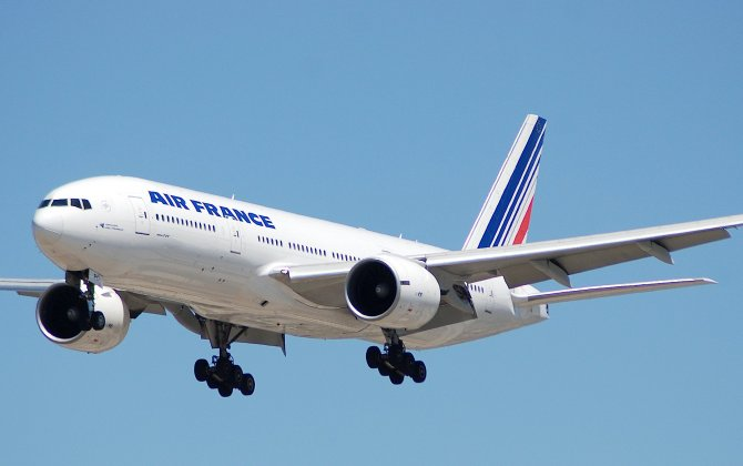 Air France's new cabins take off to Bangui