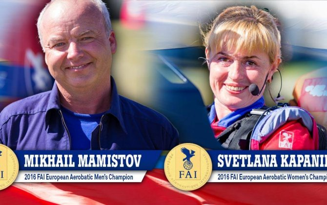New FAI European Aerobatic Champions