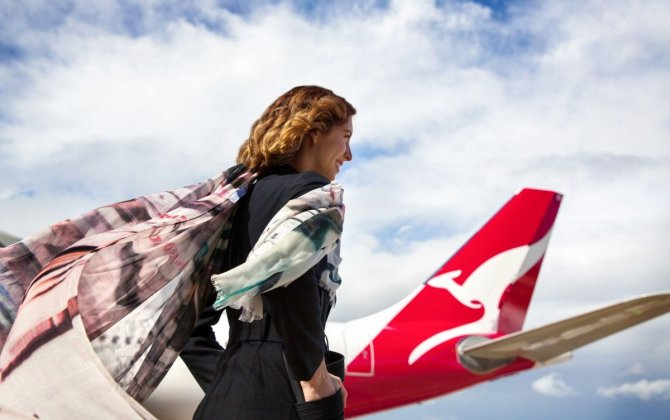 Qantas Unveils Limited Edition Scarf Inspired by Qantas Trend Consultant, Jessica Hart