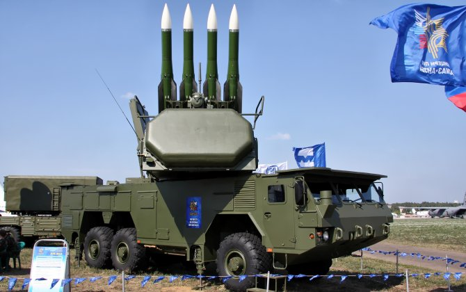 Venezuela took delivery of the first batch of Buk-M2E air defense systems on a wheeled chassis