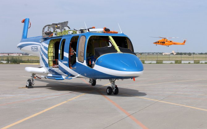 Bell Helicopter Rolls Out Second 525 Prototype