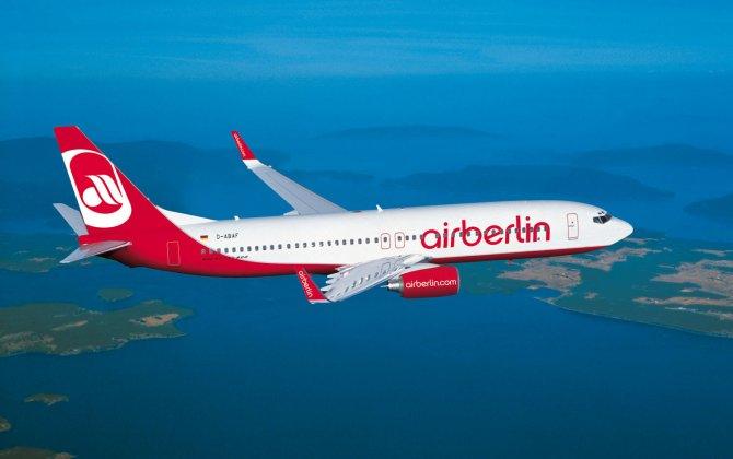 Air Berlin, 1,5% increase in capacity utilization in August 2015