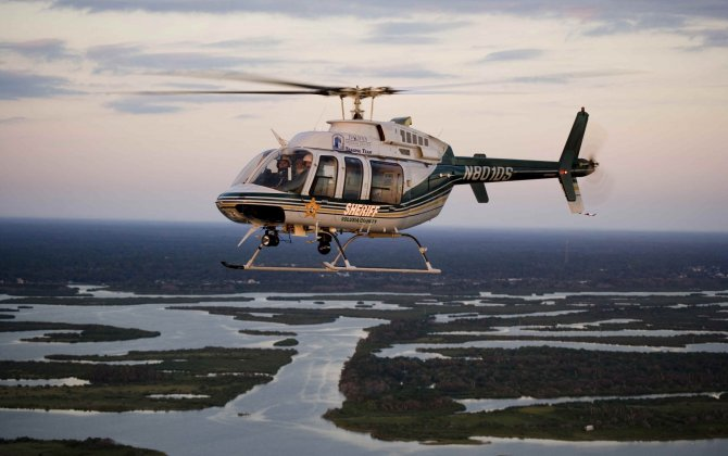 Man Accused of Pointing Laser at Sheriff's Helicopter