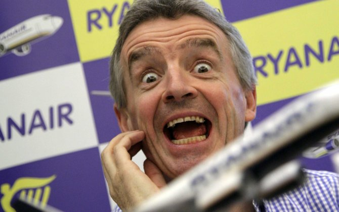 Ryanair's CEO on Trans-Atlantic Service, In-Flight Wi-Fi and Unbundling
