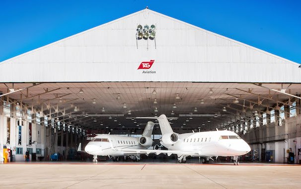 15th Anniversary of TAG Aviation Maintenance Services Operations at Farnborough and Delivers First 48-Month Check on a Bombardier Challenger 350