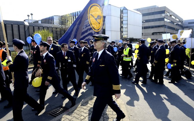 Lufthansa Pilots' Union Calls Strike for Tuesday