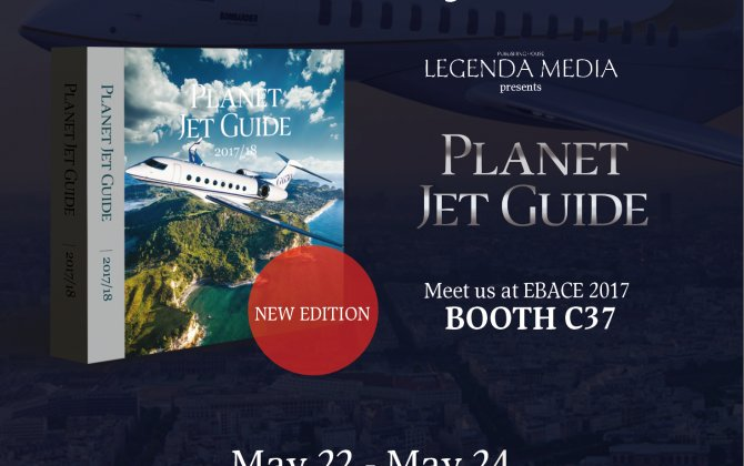 Planet Jet Guide 2017/2018 will be presented at EBACE again!
