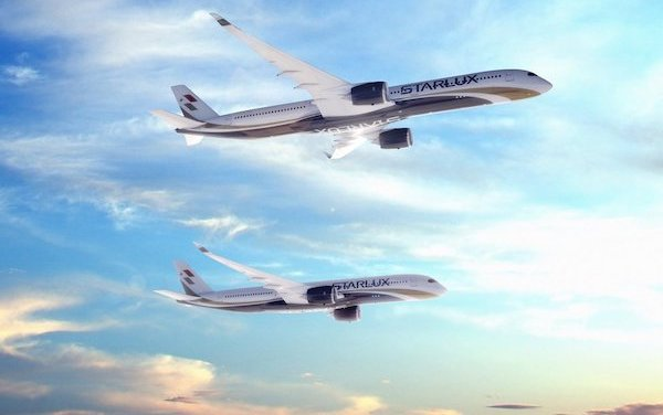 17 A350 XWB aircraft ordered by STARLUX Airlines for long-haul services