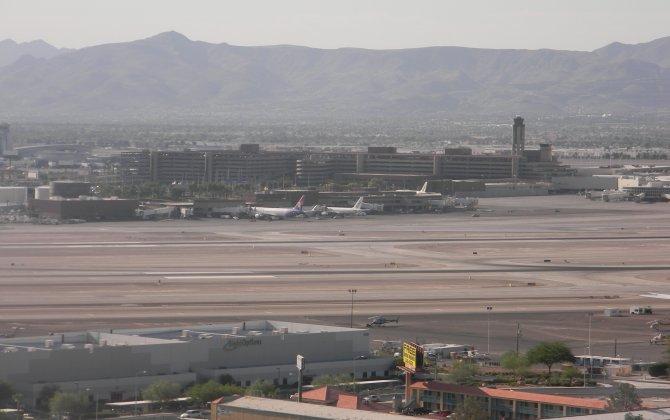 British Airways plane catches fire at Las Vegas airport; 14 injured