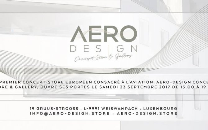 OPENING OF THE FIRST CONCEPT-STORE DEDICATED TO THE AVIATION