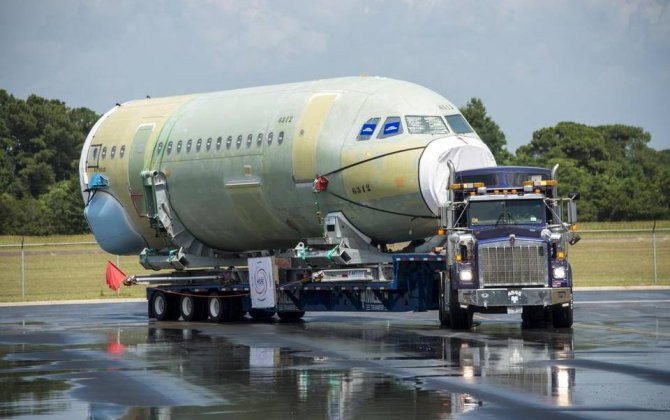 Airbus readies for Monday inauguration of U.S. plant