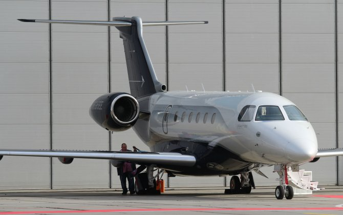 A successful debut in Russia. Legacy 500 gaining Russian orders