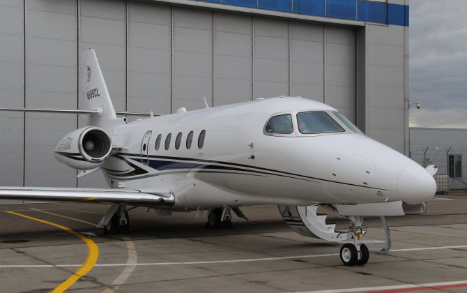 Textron Aviation Citation Latitude debut in Russia