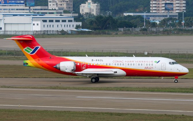 ARJ21-700 Conducts Last Demonstration Flight Before Delivery
