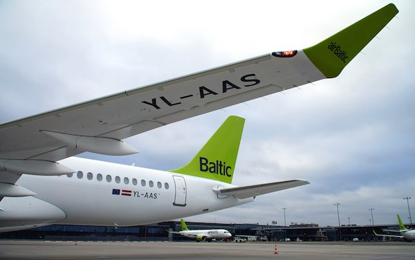 19th Airbus A220-300 of airBaltic