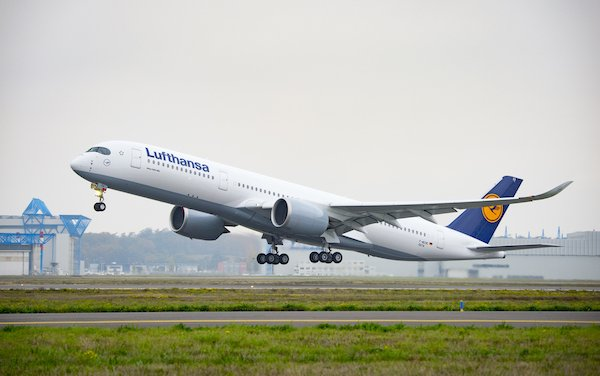 20 additional A350-900 wide-body aircraft ordered by Lufthansa