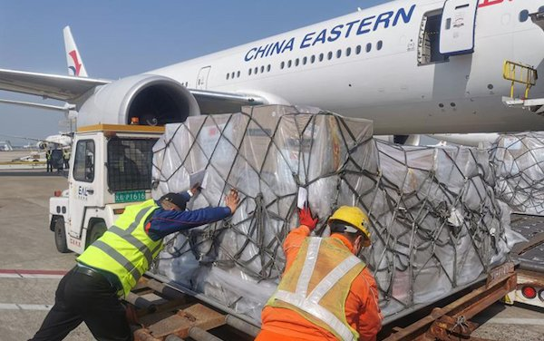 200+ Medical Supply Flights to Europe - China Eastern Airlines