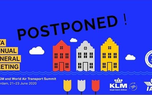 2020 AGM & World Air Transport Summit postponed
