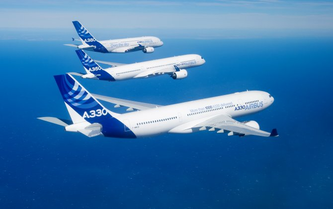 Airbus Delivers 90 Planes to China in Jan.-Aug.