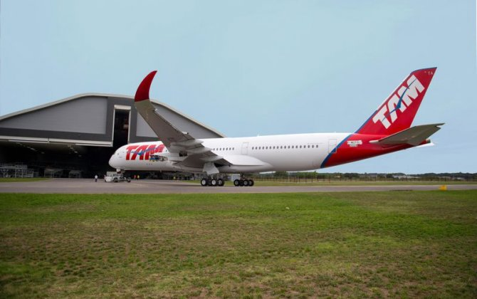 TAM Airlines reveals their first A350 XWB