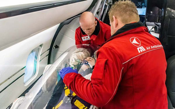 € 220 million EU commitment to safe COVID patient transport needs fast track