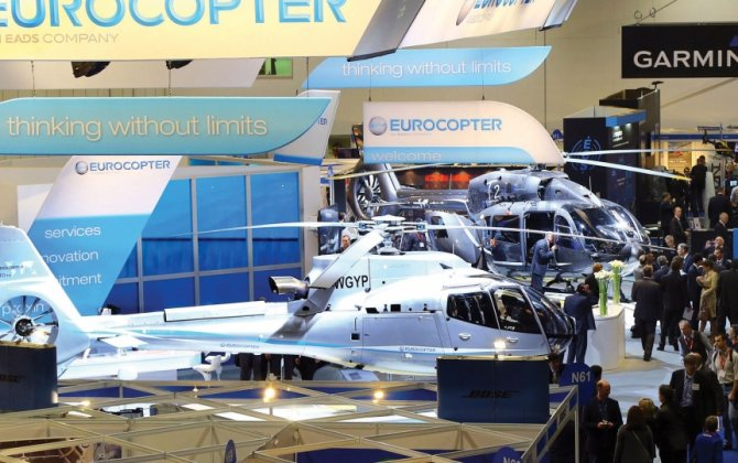 Helitech Organizers Expect Busy Show in London