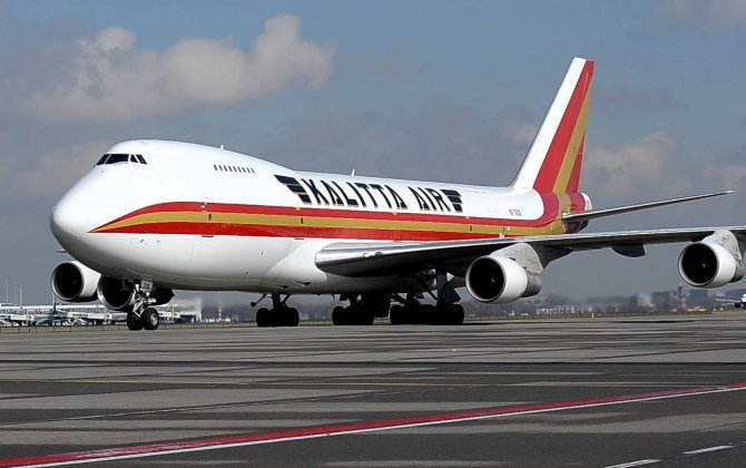 AWAS delivers one 747-400F (factory freighter) to Kalitta Air